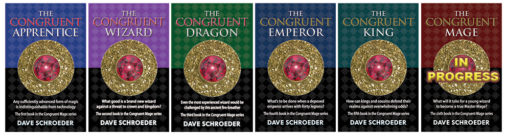 Covers for the Congruent Mage Series